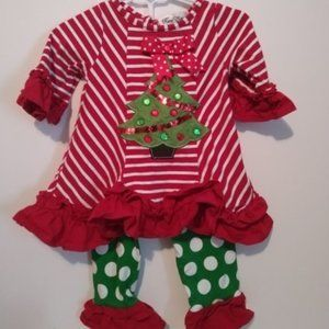 Rare Editions Christmas Outfit